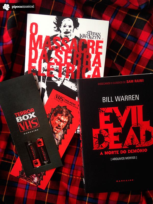 darksidebooks box terror vhs por dentro, pipoca musical