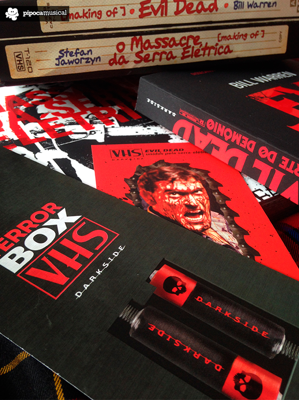 darksidebooks box terror vhs por dentro, pipoca musical