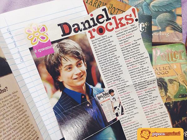 Matéria da Atrevida com Daniel Radcliffe.