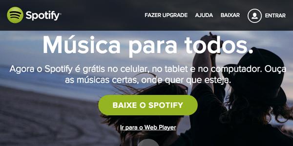 dicas servicos streaming musicas, spotify