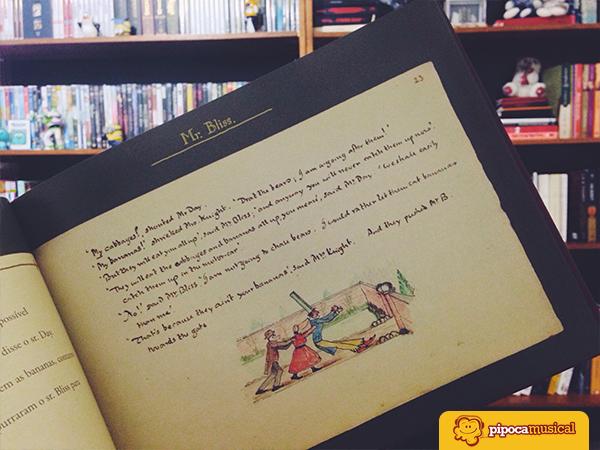 sr bliss tolkien, resenha, livros infantis, livros tolkien, pipoca musical
