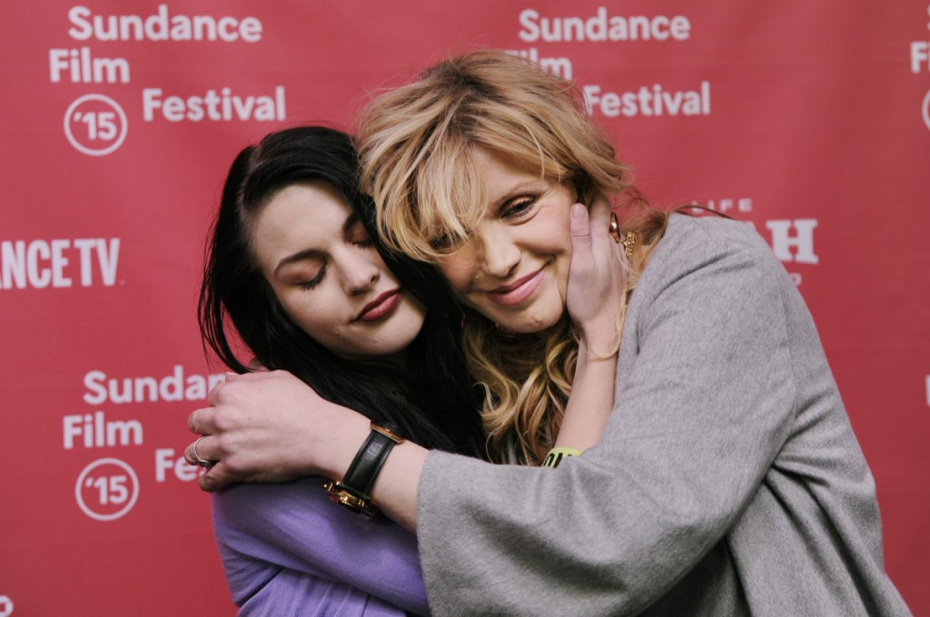 Frances Bean Cobain e Courtney Love