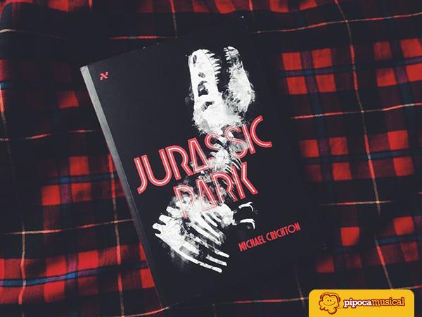 livro jurassic park aleph, michael crichton, posfácio marcelo hessel, omelete, pipoca musical, raquel moritz