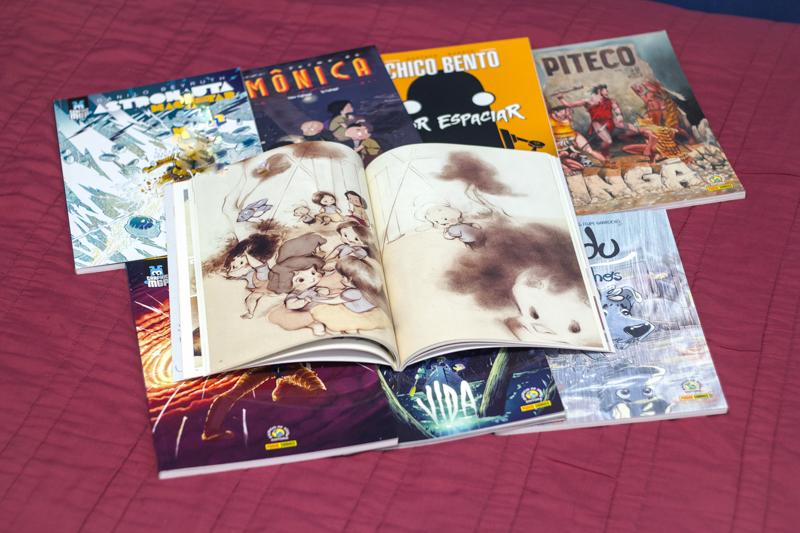 lições graphic novel msp, turma da monica, resenha de quadrinhos, bruno trindade, pipoca musical