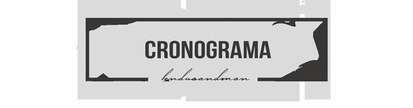 Cronograma do Projeto de Leitura #LendoSandman