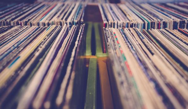 Vinyl - coleção de discos