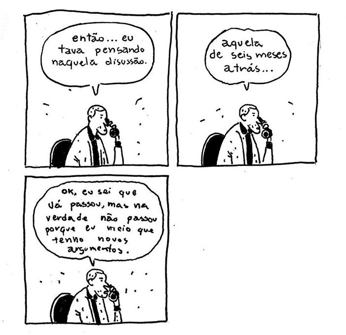 Diego Sanchez - Quadrinhos Insones - Discussões antigas