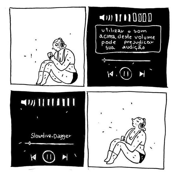Diego Sanchez - Quadrinhos Insones - Música acima do volume