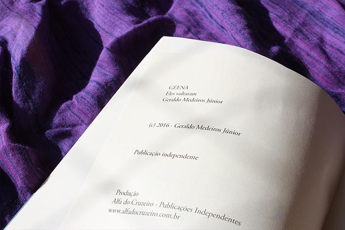 Resenha do livro nacional GEENA - Geraldo Medeiros Jr.