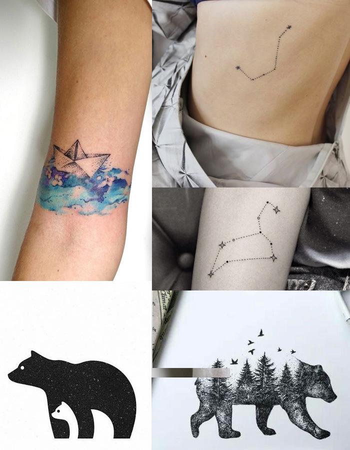 Tatuagens Literárias - DarkSide Books - Em Algum Lugar nas Estrelas