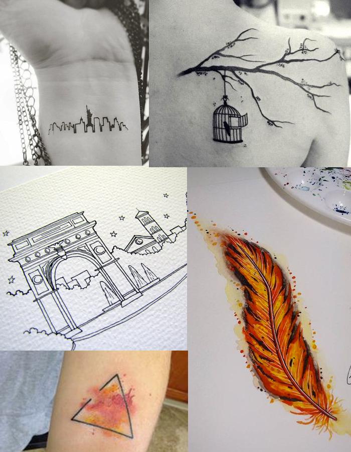 Tatuagens Literárias - DarkSide Books - Golem e o Gênio