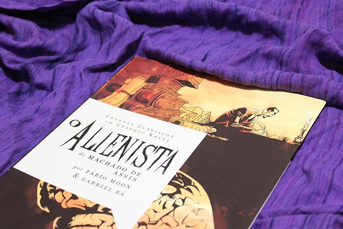 O Alienista - Machado de Assis, Fábio Moon e Gabriel Bá