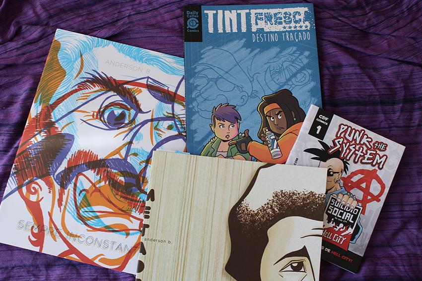 Tinta Fresca e outros - Bienal de Quadrinhos de Curitiba