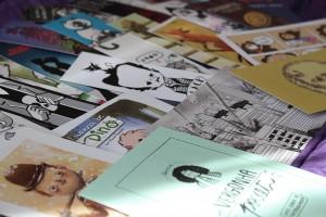 Marcadores de páginas - Bienal de Quadrinhos de Curitiba