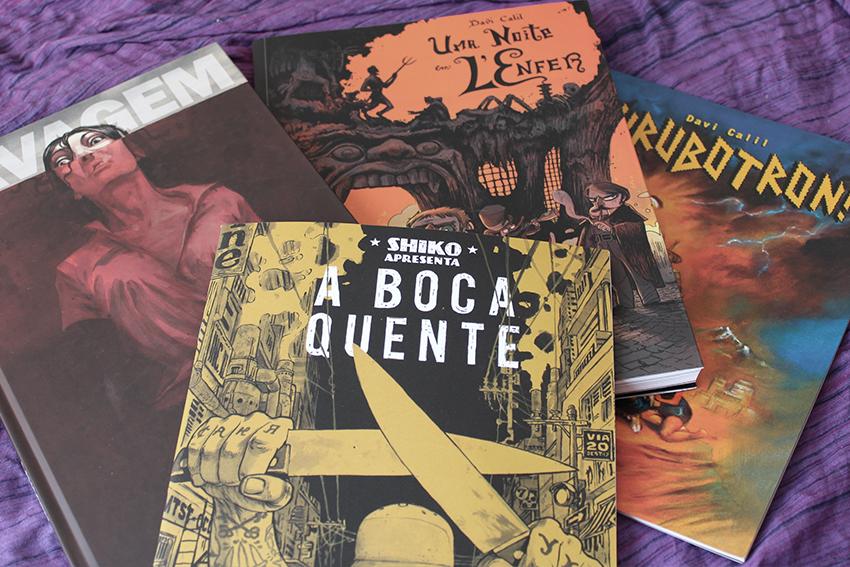 Shiko e Davi Calil - Bienal de Quadrinhos de Curitiba