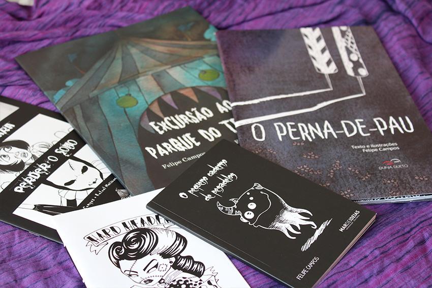 Felipe Campos - Bienal de Quadrinhos de Curitiba