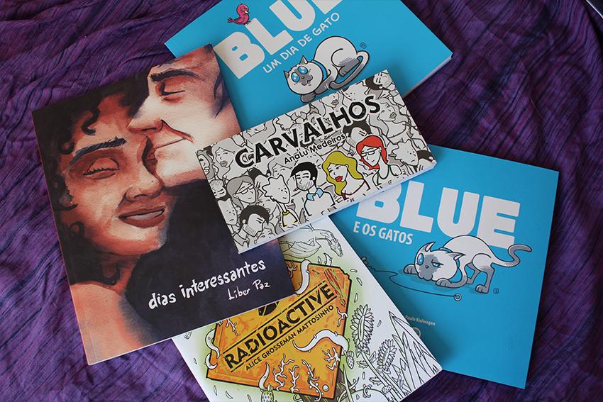 Liber Paz, Paulo Kielwagen e Analu - Bienal de Quadrinhos de Curitiba