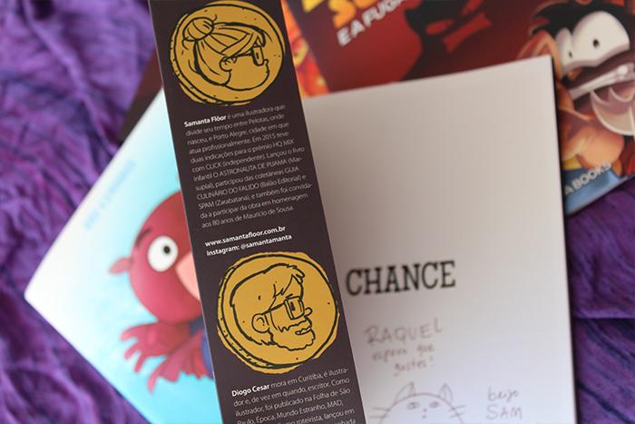 Chance - Quadrinhos da POLVO ROSA BOOKS