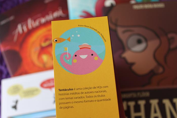 Quadrinhos da POLVO ROSA BOOKS