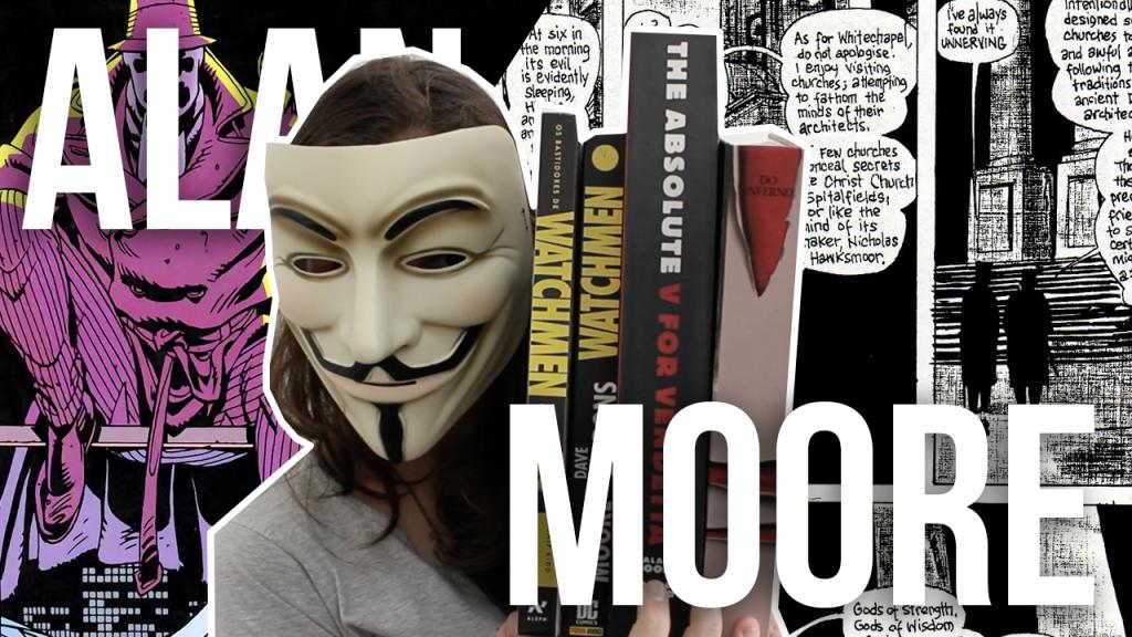 Alan Moore em 3 Quadrinhos