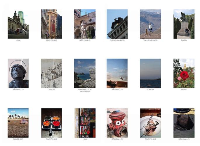 FELIPE CALVET - Amazon - Relação de fotos e locais do livro