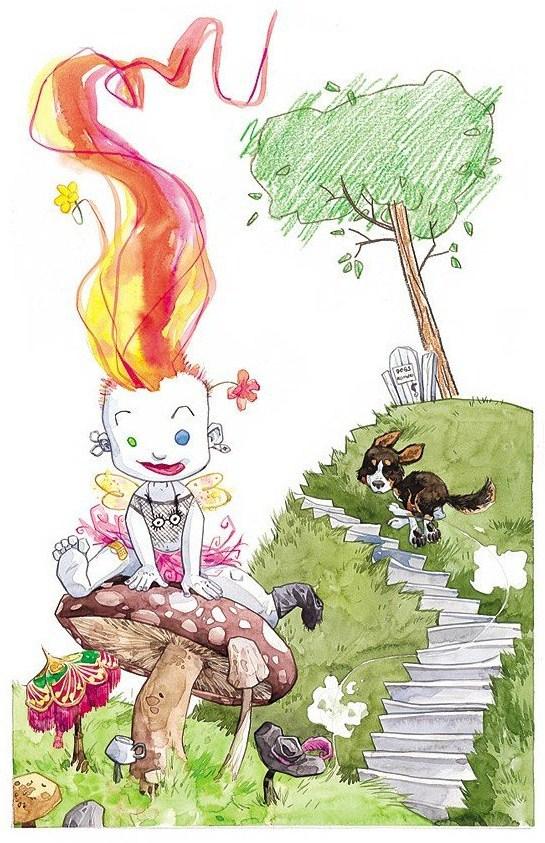 Os Pequenos Perpétuos, de Jill Thompson