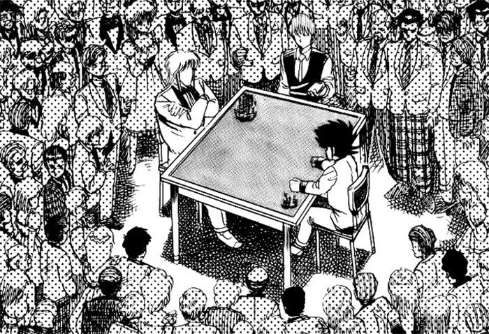 POKER KING, mangá sobre poker