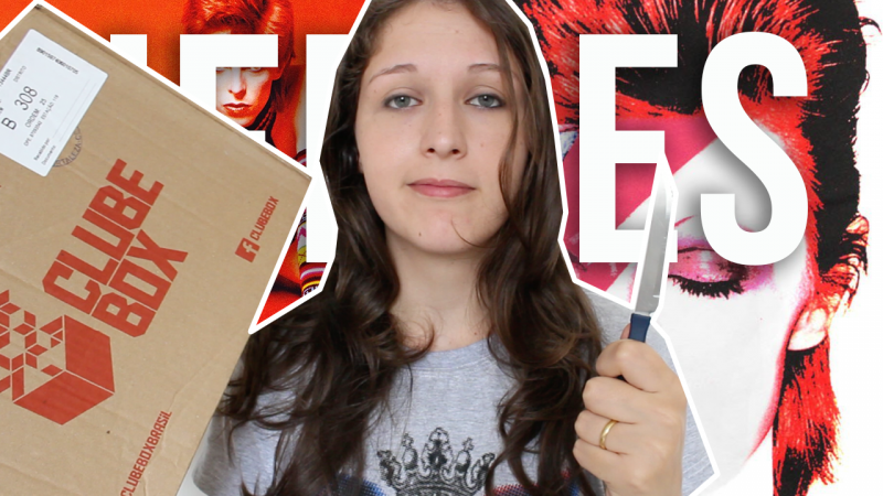 Unboxing da Clube Box + Sorteios do Bowie