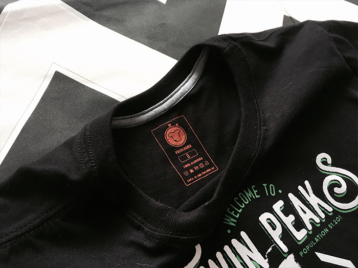 CAMISETAS NO PRINTERAMA - Camiseta Twin Peaks de qualidade