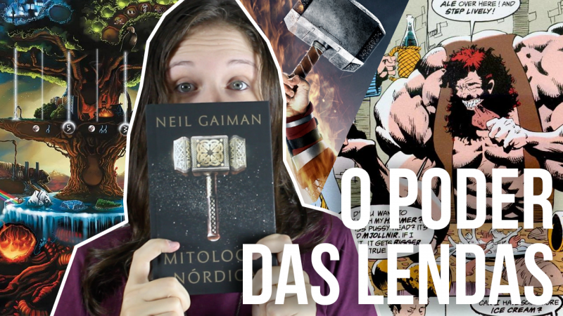 Mitologia Nórdica e o poder das lendas na voz de Neil Gaiman