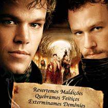 """""""Os Irmãos Grimm"""", comédia com Heath Ledger e Matt Damon em boa forma"""