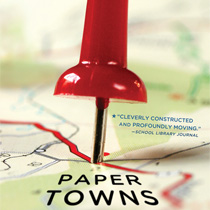 Paper Towns, um livro sensível e divertido de John Green