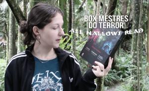 Livros de terror clássicos no Box Mestres do Terror