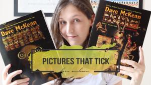 Pictures that Tick, o livro de artes e contos de Dave McKean
