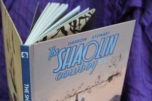 The Shaolin Cowboy, quadrinho publicado pela Editora MINO - Pipoca Musical