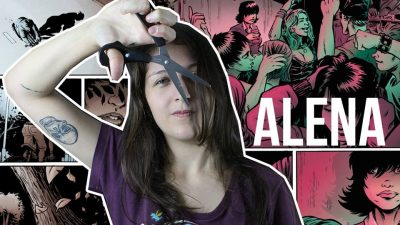 Alena, uma HQ de terror e amor
